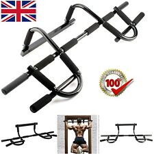 DOOR GYM BAR FITNESS BAR CHIN PULL UP STRENGTH SITUP DIPS EXERCISE WORKOUT