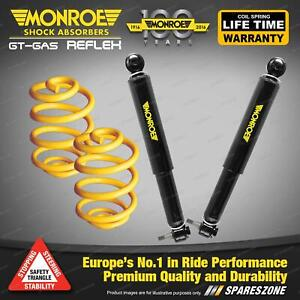Front Super Low Monroe Shocks King Springs for FORD CORTINA TC TD 6CYL Sdn