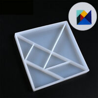 DIY Silikonform Dreieck Harz Schmuckherstellung Form HalsketteAnhängerHandwer C4