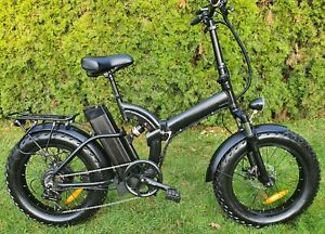 Pedelec Elektrofahrrad Fat E Bike 500 W Neu Fully Klapprad