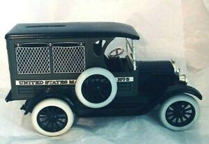 ERTL 1923 Chevrolet Truck Bank United States Mail No 5 Die Cast Metal