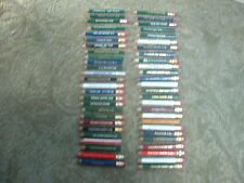 GOLF PENCIL COLLECTION~OVER 50 NO DUPS.ALL GOOD CONDITION