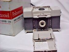 Vintage Model 230 Print Copier for Polaroid Land Cameras Instructions Looks Mint