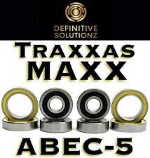 Traxxas Maxx ABEC-5 Precision Wheel Hub Bearings Set Kit 8 Piece USA Ships Today