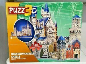 PUZZ3D -  NEUSCHWANSTEIN CASTLE - 3D FOAM BACKED PUZZLE