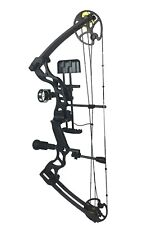 ASD Pro Series Black High Powered Compound Archery Bow Package With Free CASE