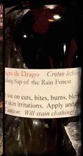 15ml DRAGONS BLOOD Sanger De Drago Ecuador Blood Red Liquid Resin Oil FOR SKIN