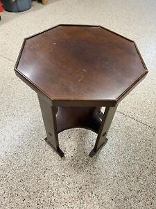 STICKLEY 89-515 Octagonal Mission Oak End Table #2