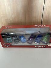 Disney Pixar Cars Super 6 Box Set Rollin Bowlin Mater Diecast 1:55 Desert Back