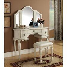 Acme Furniture 90025 Trini Vanity Mirror, White New