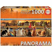 CAT PANORAMA - 1000 Piece Jigsaw Puzzle, Educa Borras