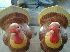 Autumn, Harvest, Fall Thanksgiving Table Decor Turkey Candle Holders