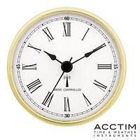 Acctim 79328 Radio Controlled Quartz Clock Insertion Movement 80mm