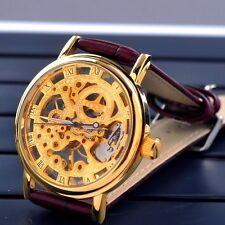 Mechanische - (Handaufzugs) Armbanduhren mit Skelettuhr-Funktion