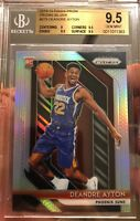 2018 Deandre Ayton Rookie Card Panini Prizm Silver Refractor Gem Mint 9.5 BGS