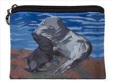 Sea Lions Change Purse,  Coin Wallet - From my Original Oil Painting