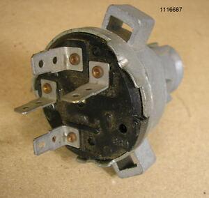 1967 Pontiac Firebird NOS Ignition Switch P# 1116687