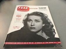TÉLÉ MAGAZINE N° 41 (août 1956) : DANIELLE DARRIEUX