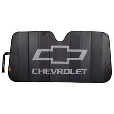 Plasticolor Chevrolet Logo Black Matte Accordion Windshield Sunshade 003864R01