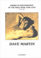 Dave Martin vtg 50s Stanford beefcake Male Nude figure study Ritter Brothers gay