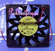 ADDA AS12012UB25A100 Axial flow fan DC12V 1.80A 120*120*25mm 2pin #MK98 QL