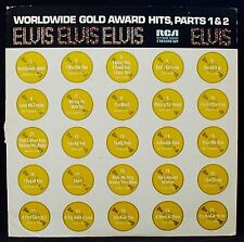 ELVIS PRESLEY-ELVIS' WORLDWIDE GOLD AWARD HITS PARTS 1 & 2-RCA VICTOR #R213690-2