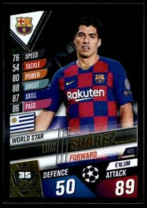 Topps match coronó Champions League 20//21 gg1 Golden goalscorers Luis Suarez