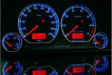 Seat Ibiza, Cordoba 1994-1999 Design 2 glow gauge plasma dials tachoscheibe glow