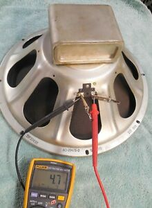 """15""""  CTS Speaker Smooth Cone 137 539 AO-29475-0 Woofer Tested"""