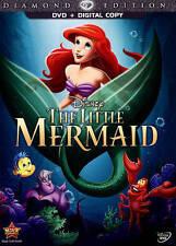 The Little Mermaid (DVD, 2013, Diamond Edition Includes Digital Copy)