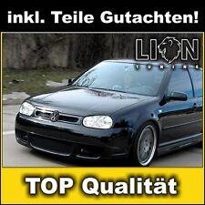 Stoßstange Frontschürze VW Golf 4 IV R32 Optik aus ABS, GTI RS Frontstoßstange