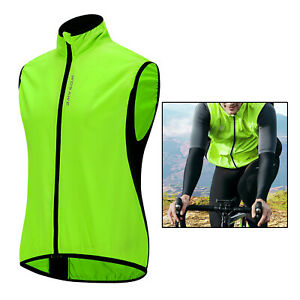 Waterproof Reflective Safety Vest Outdoor Running Walking Motorcycle Sports