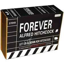 New Forever Alfred Hitchcock Complete Portfolio Collection (37DVD) Box Set