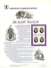 #167  Dr. Mary Walker Medal of Honor #2013 USPS Commemorative Stamp Panel