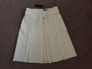 M&S AUTOGRAPH Cotton Blend with CUPRO Ladies SKIRT UK16 EU44 BNWT RRP£45 SW