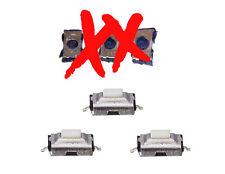 3 micro interruptores para Nissan Micra Almera Primera X-Trail 2 Botón Remoto Clave Fob