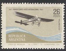 Argentina 1967 Aircraft/Transport/Aviation/Planes/Flight/Commerce 1v (n30445)