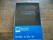 SEYMOUR DUNCAN HOT RAILS FOR TELECASTER HUMBUCKER PICKUP SET STHR-1N STHR-1B
