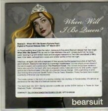 (BR514) Bearsuit, When Will I Be Queen - DJ CD
