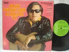JOSE FELICIANO LP: January '71, Rare