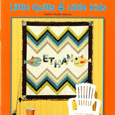 LITTLE QUILTS 4 LITTLE KIDS 10 Patterns for Baby on Up NEW BOOK Anka's Treasures