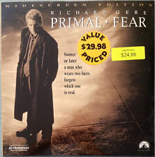 new PRIMAL FEAR laserdisc Oscar nominee Richard Gere Edward Norton