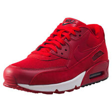 Nike Air Max 90 Rouge Chaussures Baskets Taille UK 9