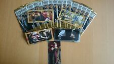 75 Cards (15 Tüten) HARRY POTTER Contact Trading Cards  Panini