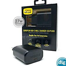 OtterBox USB-C Wall Charger Plug 27W / Fast Charge -  5V 3A / 9V 3A - EU PLUG