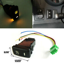 Fog Lamp Push Button Switch Amber LED Indicator Light OEM Replacement for Toyota
