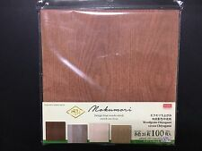 New product Japanese style DESIGN Paper,ORIGAMI,100Sheets,Woodgrain,MIJ