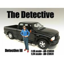 """""""The Detective #3"""" Figure For 1:24 Scale Models By American Diorama 23931"""