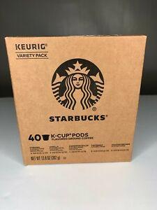 Starbucks Starter Kit K-Cup Variety Pack for Keurig Brewers, 40 K-Cup Pods