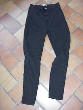 pantalon noir Bershka 36 taille haute